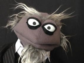 Puppet-X improvisatie poppenshow voor volwassenen de heer van de Broek