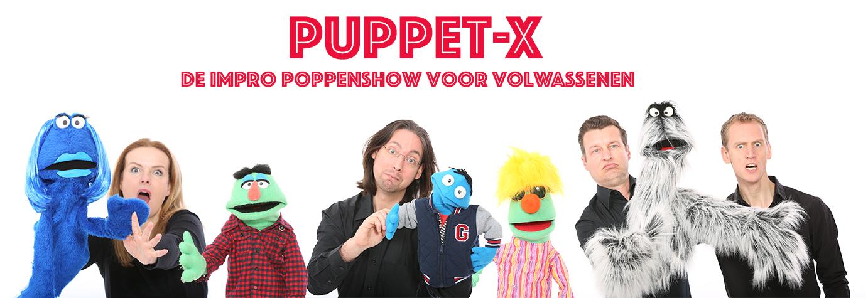 Puppet-X De Nederlandse improvisatie poppenshow voor volwassenen
