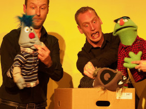 improvisatietheater poppenshow Puppet-X Live